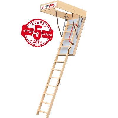 Půdní schody 4STEP: EXTRA 120x70 - poklop 46mm!!