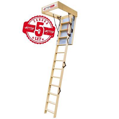 Půdní schody 4STEP: EXTRA 100x70 poklop 46mm!!