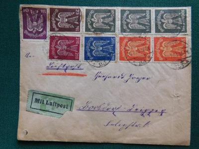 Dopis - Německá říše - Deutsches Reich