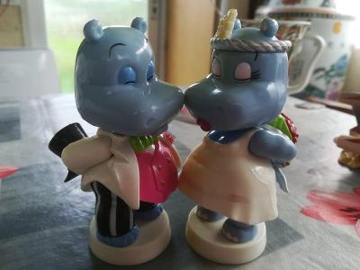 Happy Hippo - hroši z kinder maxi vajíčka