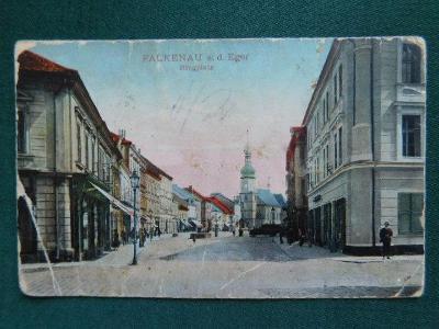 Falkenau - Sokolov / poškozena