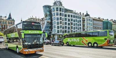 15% sleva na  jízdenky FlixBus