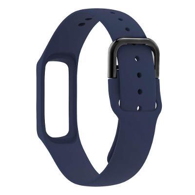 Silikonový řemínek  pro Samsung Galaxy  FIT ⓔ Fit-e R375 tmavě modrý