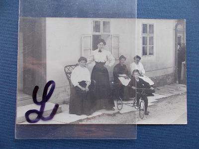 Olomouc Šumperk Dolní Lipová foto momentka hosté ženy dámy trojkolka