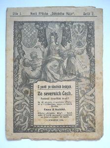 1910 Ústí nad Labem Aussig  / dějiny místopis