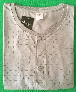 Pánská noční košile kr. rukáv vel.  3XL, 5XL (2161)