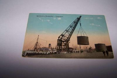 HOLANDSKO NIZOZEMÍ ROTTERDAM přístav /bk43/