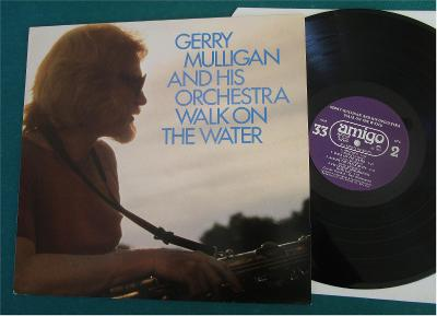 GERRY MULLIGAN and his orchestra - Walk On The Water - Swed.1980 - top