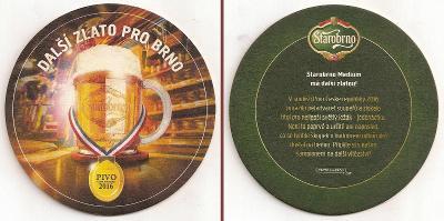 Pivní tácek Starobrno