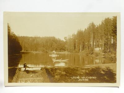 Lázně Velichovky, Jaroměř, Náchod - JEZÍRKO 1931