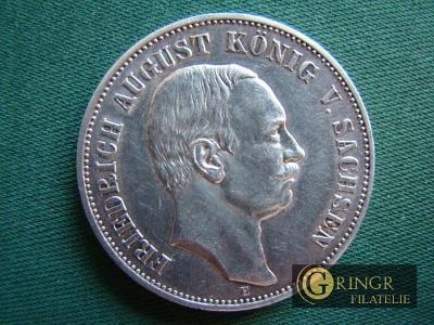 5 Mark 1914 E – Friedrich August König V. Sachsen - Deutsches Reich 18