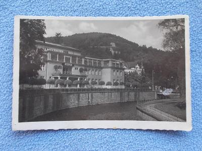 Pohlednice Sudety Karlovy Vary  Karlsbad Gasbad