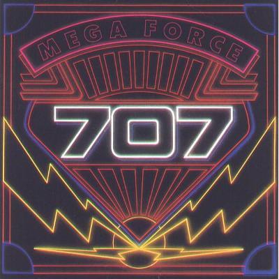 707 – Mega Force LP 1982 vinyl 1.press super stav NM Hard Rock
