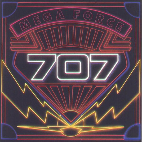 707 – Mega Force LP 1982 vinyl 1.press super stav NM Hard Rock - Hudba