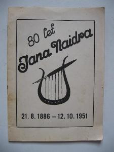 Dr. jan Naidr - 1886 - 1951 80 let Mláka Luková Bukovsko K. Řečice