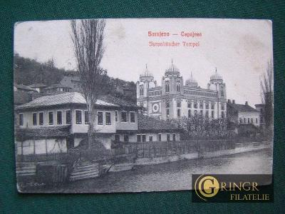Sarajevo - Capajebo - Israelitischer Tempel - Synagoga, Bosna a Herceg