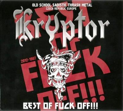 KRYPTOR - Best of Fuck Off!!! CD NOVÉ, ZABALENÉ!! debustrol atomic