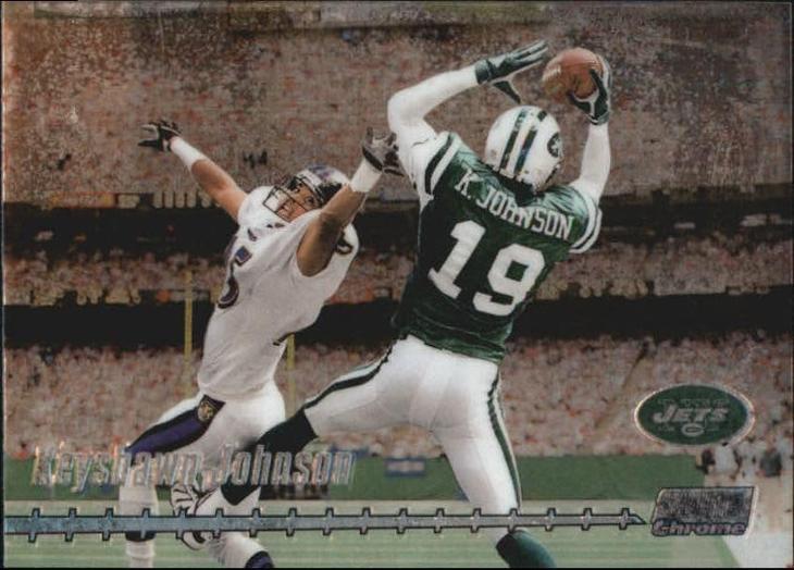 KEYSHAWN JOHNSON @ NEW YORK JETS @ NFL - Sportovní sbírky