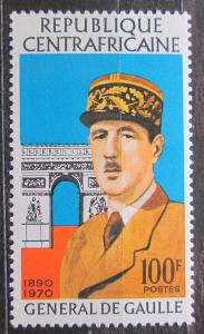 SAR 1971 Charles de Gaulle Mi# 241 1139