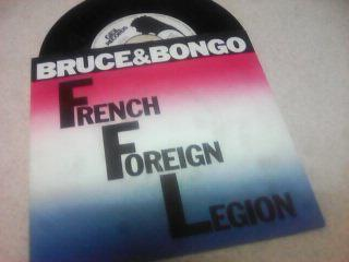 BRUCE IN BONGO-FRENCH FOREIGN LEGION-SP-1986.