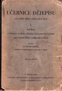 UČEBNICE DĚJEPISU 2 knihy - 1932