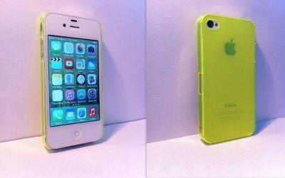 Plastový kryt na iPhone 4/4S