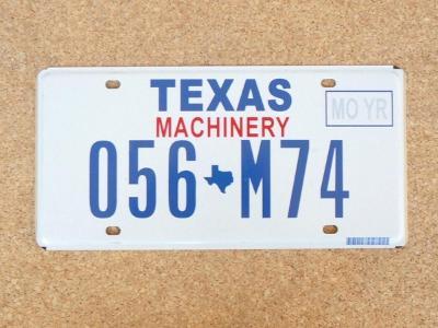 USA SPZ, Texas originál...