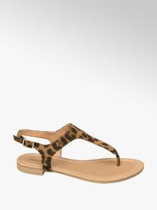 *** Nové zabalené dámské tygří sandále nadměrné vel. 43 ! *** AKCE ***