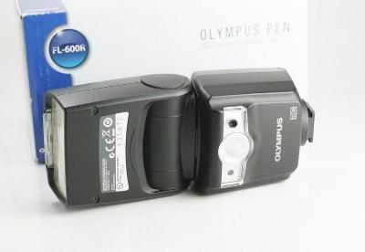 Olympus FL-600R TOP STAV