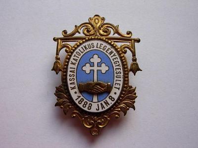 Odznak - Košice 1888 - veľmi vzácny