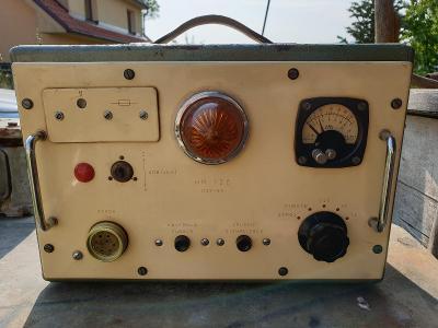 Hlásič radiace HR-120 - extrémně vzácný dozimetr CO z r. 1965 ČSLA