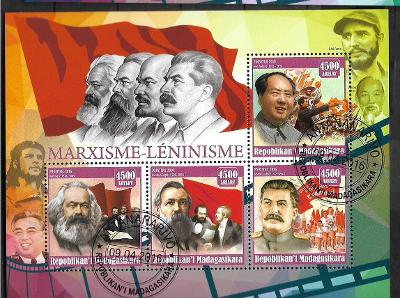 Madagaskar - Marx, Engels, Stalin, Mao