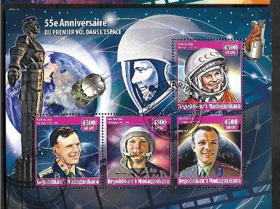 Madagaskar - Kosmos -  Jurij Alexejevič Gagarin