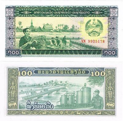 Laos 100 Kip P-30 UNC