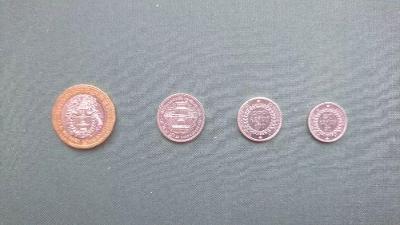 Kambodža set 4 mince