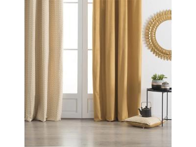 Okenní závěs z bavlny a polyesteru