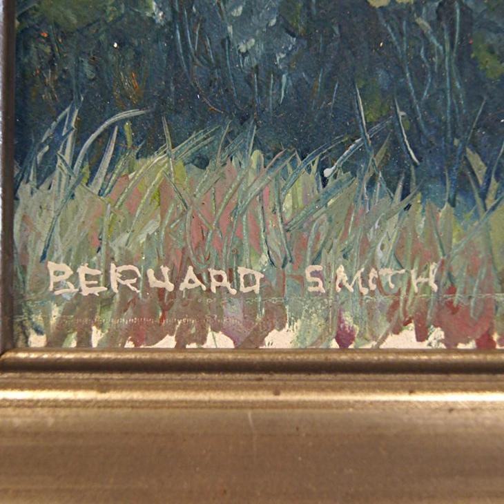 "SMITH BERNARD  - ""ZÁTOKA BETEAU BAY "" - OLEJ - Umění"