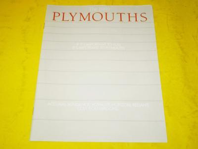 --- Plymouth 1989 ------------------------------------------------ USA