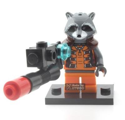 figurka Avengers Rocket pro lego