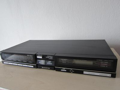Stereo AM/FM Tuner Sanyo JT 6050L Vintage High End /Japan 1986 !!!