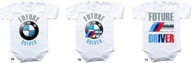BMW M Future Driver - dupačky body krátký / dlouhý rukáv