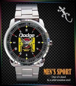 Dodge Rumble Bee Logo - pánské hodinky nerezová ocel