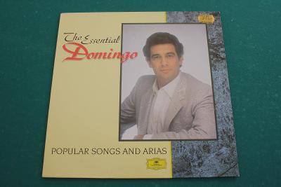 PLACIDO DOMINGO - slavné písně a árie - top stav - West Germany 1989