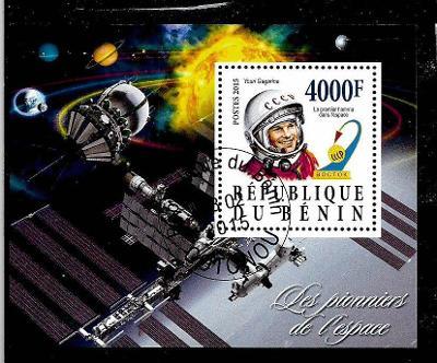 Benin 2015 - Kosmos - Gagarin