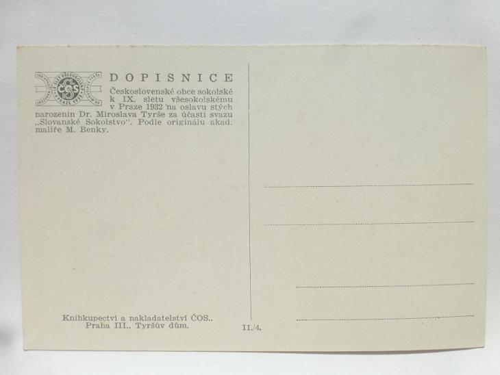 Praha - SOKOL SLET 1932 - Pohlednice