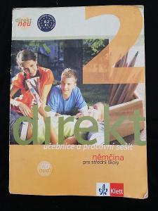 NĚMČINA - Direkt 2 - učebnice a pracovní sešit