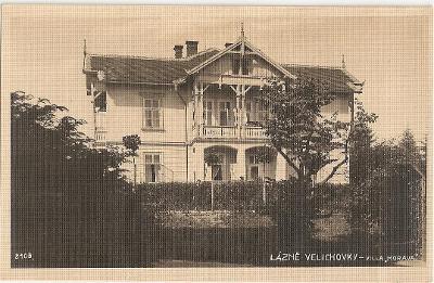 VELICHOVKY - lázně - vila Morava - Náchod