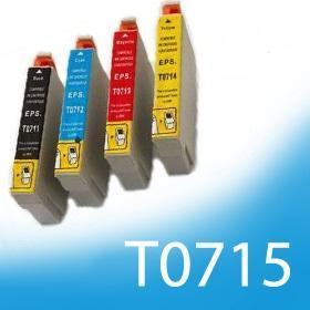 Kompatibilní náplně pro EPSON T0711, T0712, T0713, T0714 dle výběru
