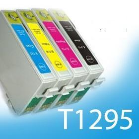Kompatibilní náplně pro EPSON T1291, T1292, T1293, T1294 dle výběru!!!