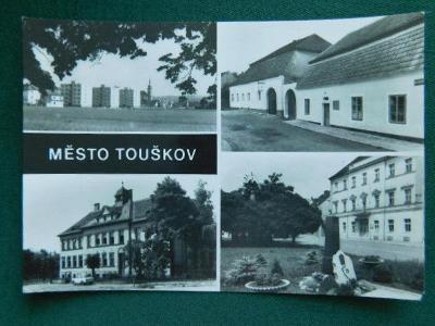 Město Touškov - okres Plzeň-sever (velký formát) /roh